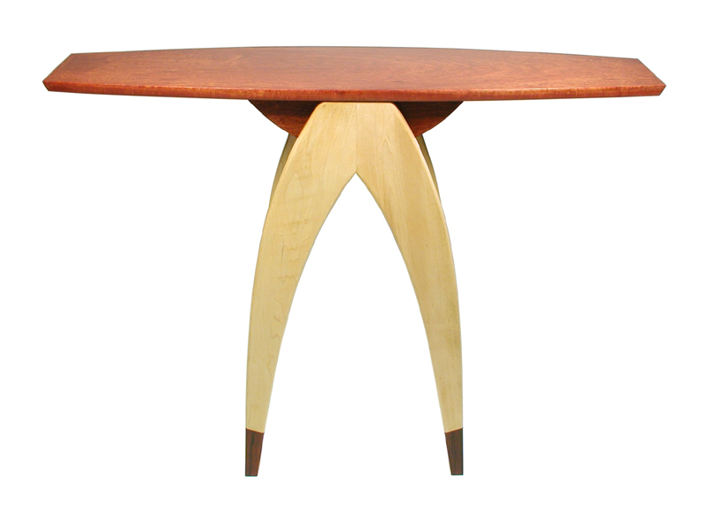 Wishbone Hall Table