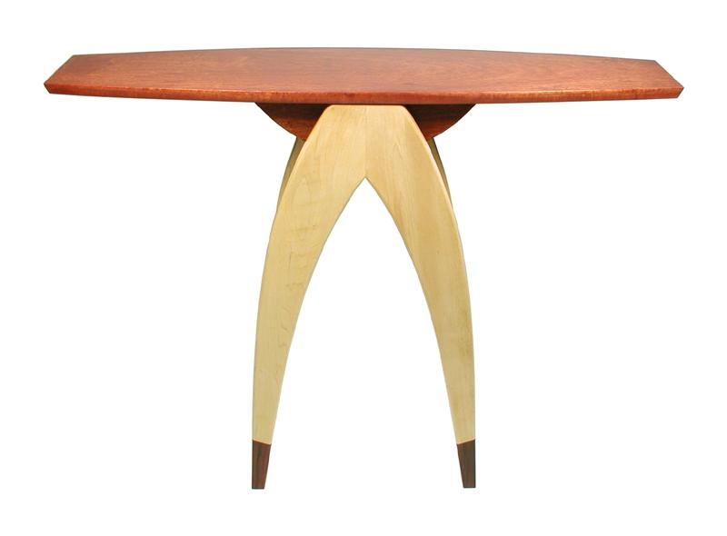 Wishbone Hall Table