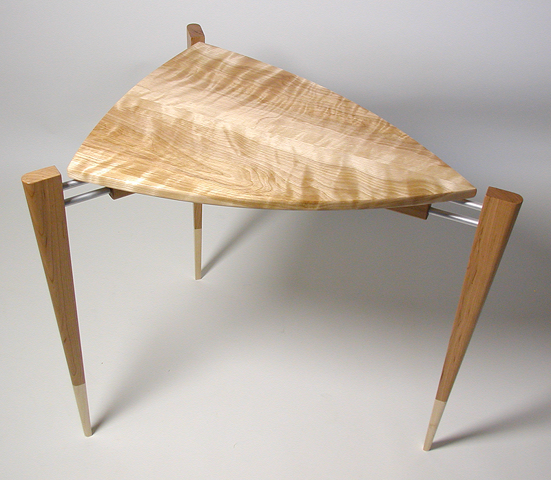 Side Table Flame Birch