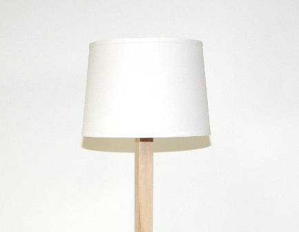 Bahama Blue Maple Floor Lamp
