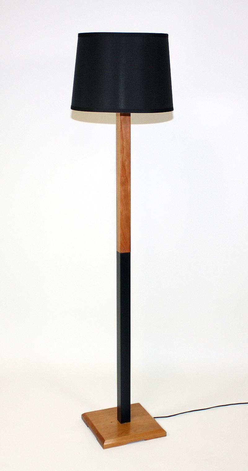 Black (Cherry) Floor Lamp