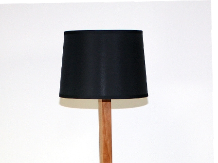 Black (Cherry) Floor Lamp