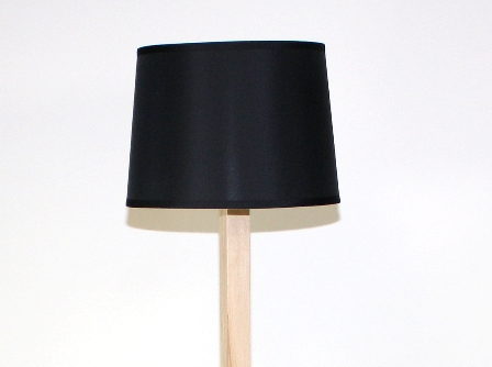 Black (Maple) Floor Lamp