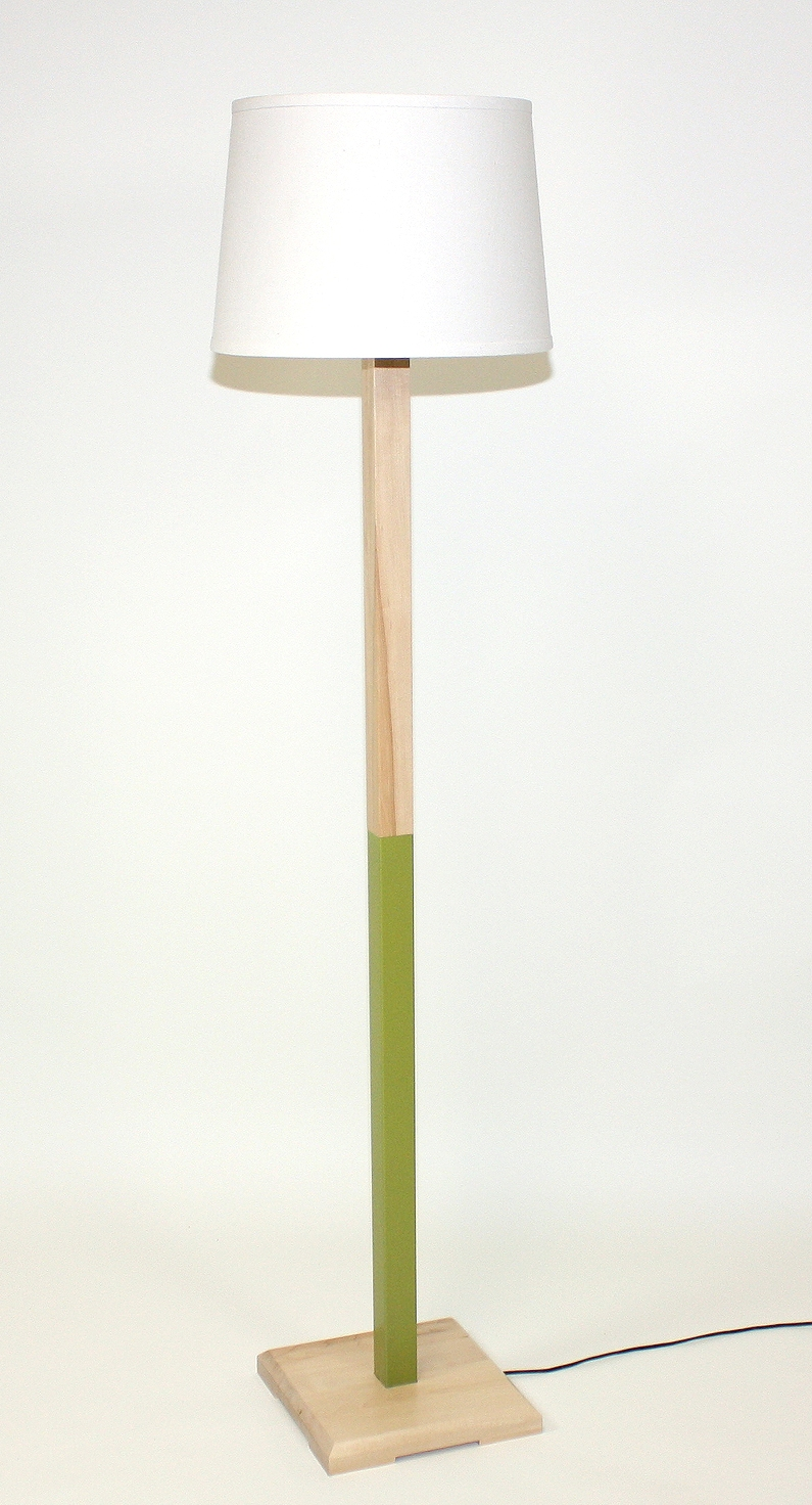 Ivy (Maple) Floor Lamp