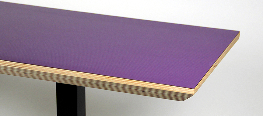 Console Table - Radiant Orchid