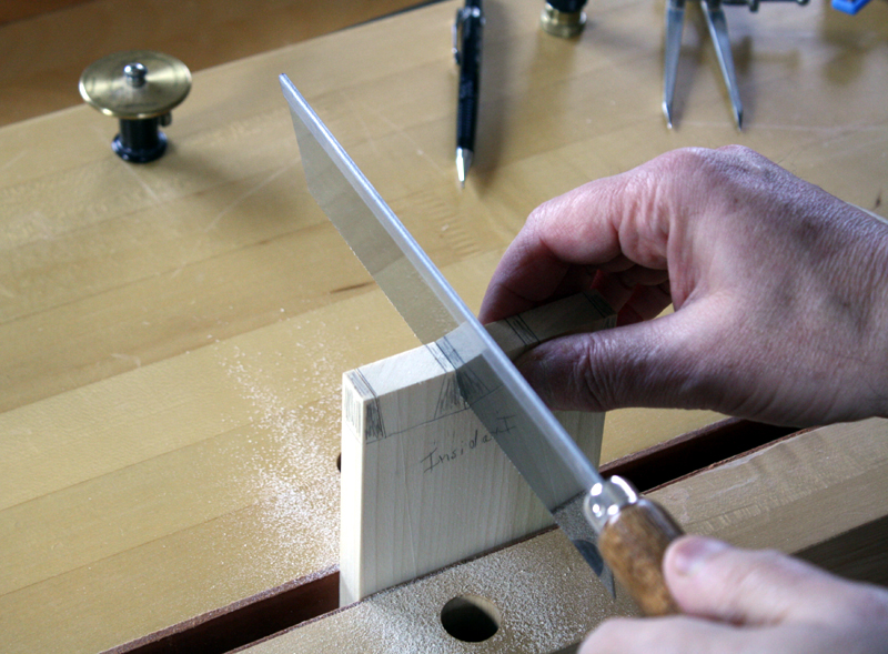 Dovetail Sawing