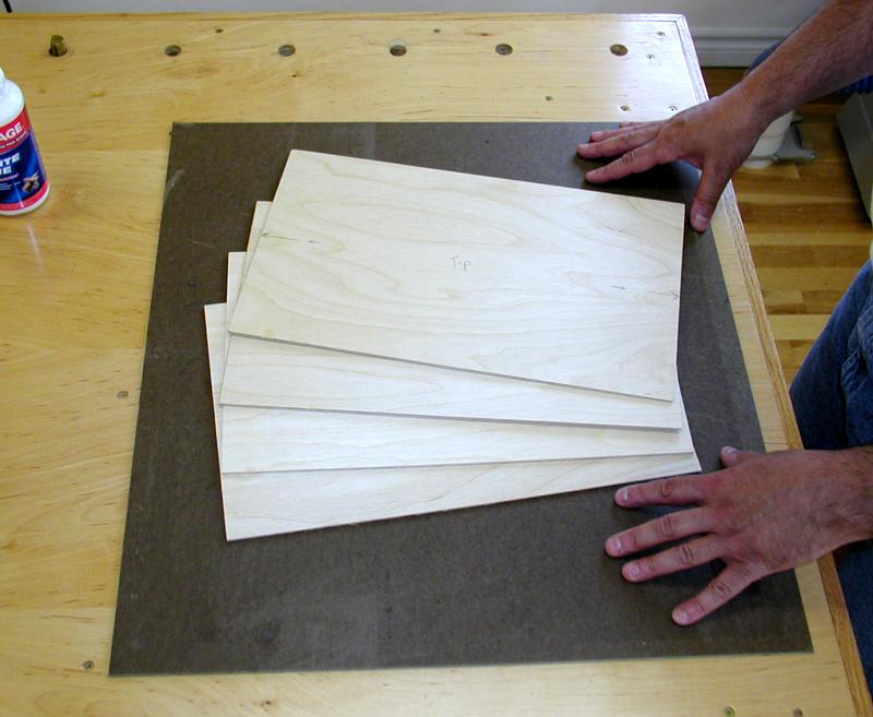 Resawn Veneer Sheets