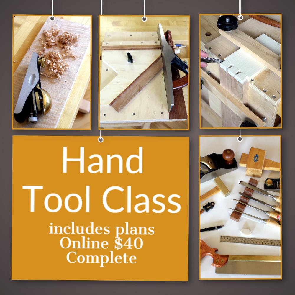 Hand Tool Class