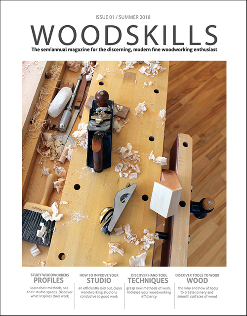 WOODSKILLS fine woodworking magazine