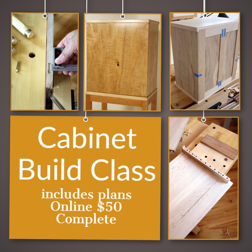 Cabinet Build Class