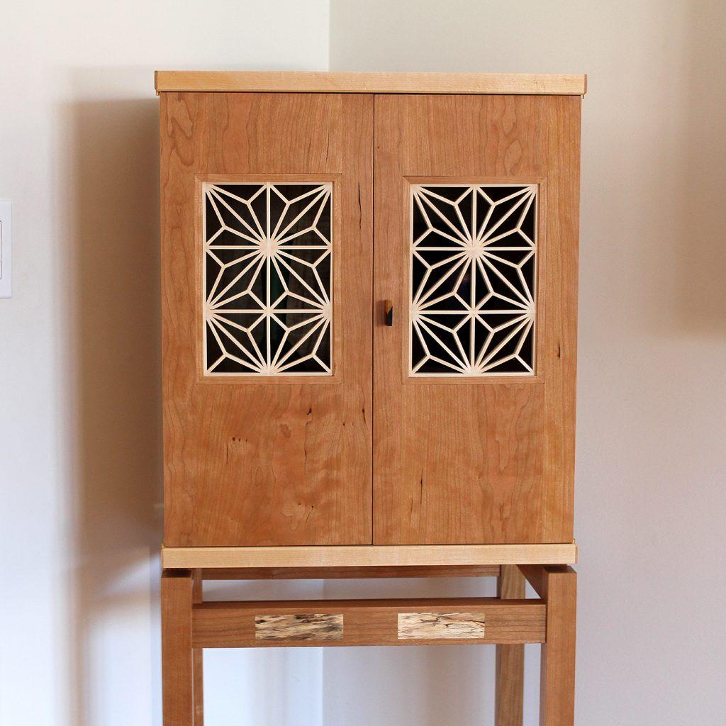 Kumiko Display Cabinet