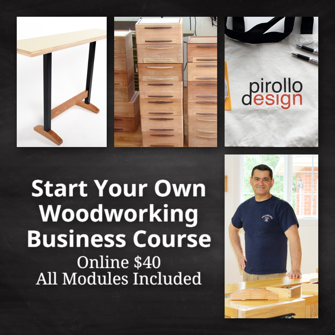 Start Woodworking Business Course